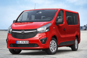 Opel Vivaro new front