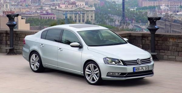 VW Passat facelift předek